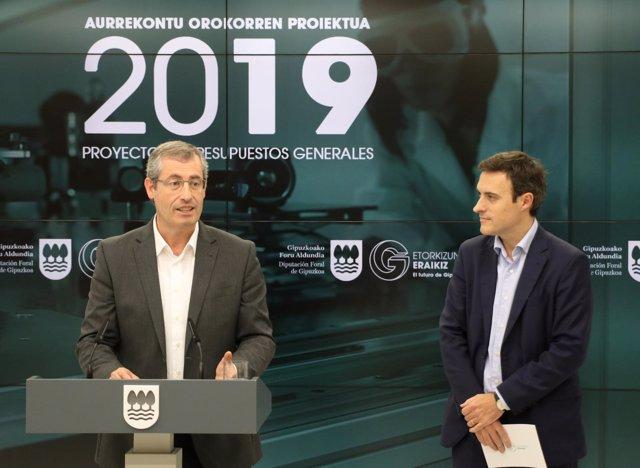 Markel Olano y Jabier Larrañaga