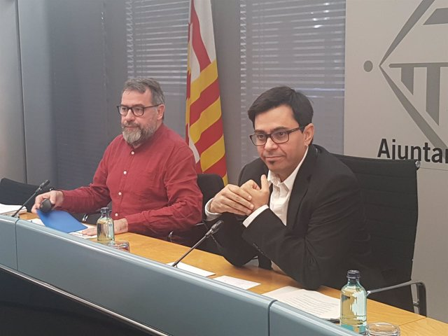 Màrius Boada y Gerardo Pisarello