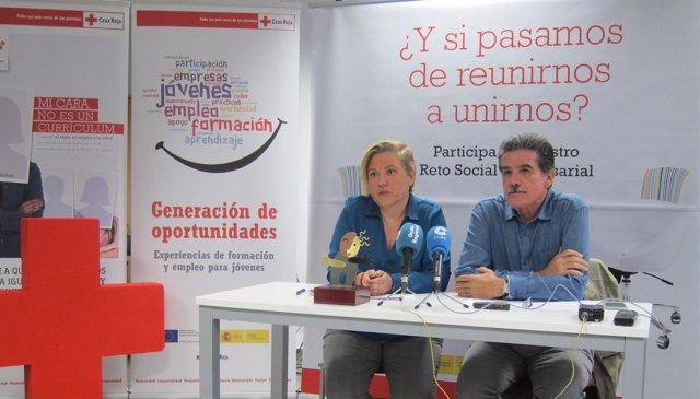 Encarni Marín y Faustino Herrero presentan los datos del Plan de Empleo