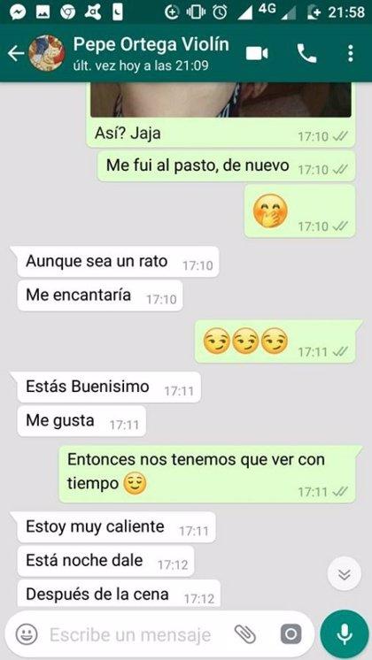 Desenmascaran a un sacerdote argentino que mantenía conversaciones de tono sexual con jóvenes por WhatsApp