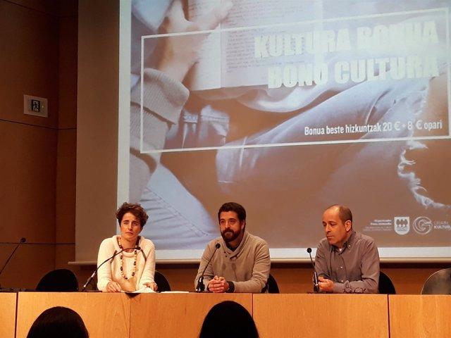 Mª Jose Tellería, Adolfo López Chocarro y Patxi Presa