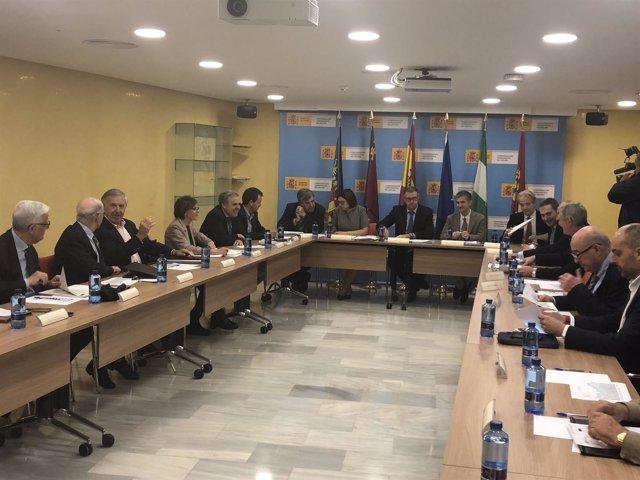 Reunión de la Junta de Gobierno de la Confederación Hidrográfica del Segura