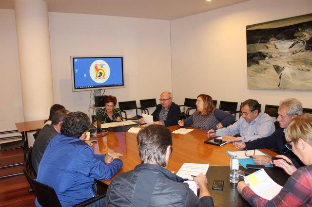 Comisión de Desarrollo Territorial y Medio Natural celebrada hoy en la DPH