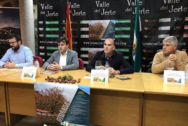 Inauguración de la Otoñada del Valle del Jerte