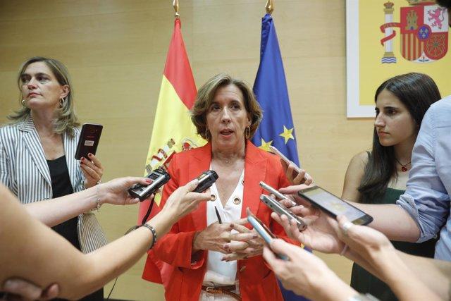 La secretaria de Estado de Economía y Apoyo a la Empresa, Ana de la Cueva, valor