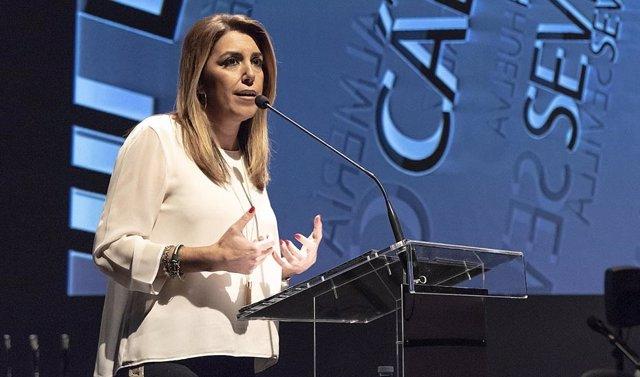 Susana Díaz preside la entrega de los premios Coraje de los Autónomos Andaluces