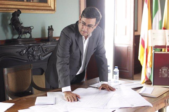 El alcalde de Utrera, José María Villalobos
