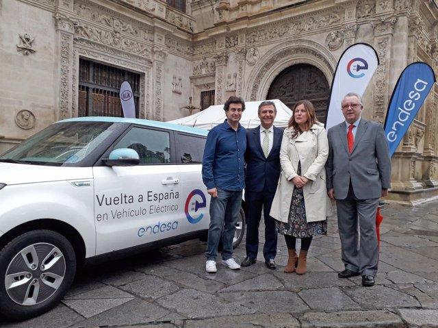 Sevilla, en la 5ª etapa de la II Vuelta a España en vehículo eléctrico.