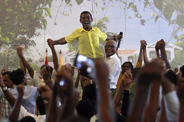 El expresidente de Maldivas Mohamed Nasheed