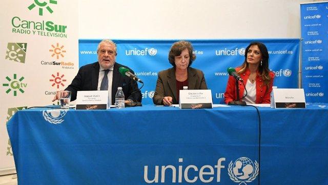 Canal Sur emite la Gala Unicef #unnombreunavida