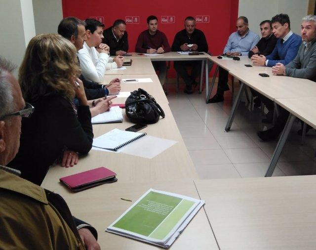 Reunión de alcaldes de las cuencas mineras.