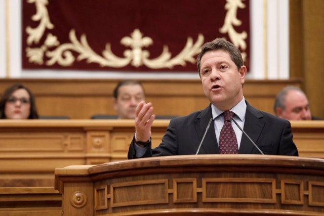 Emiliano García-Page en el Debate del Estado de la Región