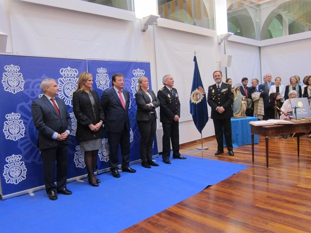 Toma de posesión de José Manuel Merino como jefe de Policía Nacional