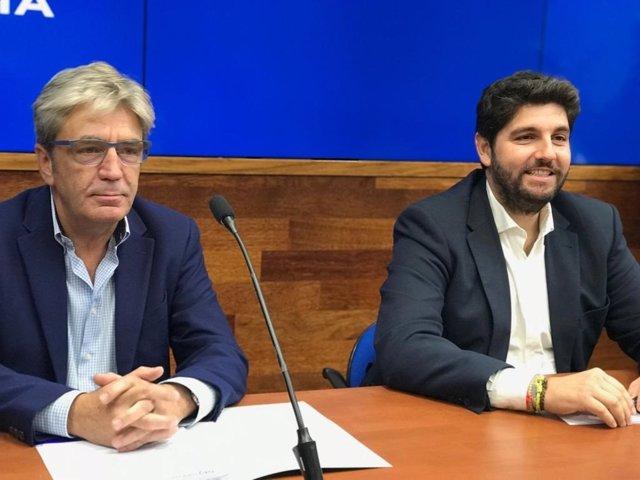 López Miras preside la reunión del Comité Ejecutivo y  la Junta Directivo