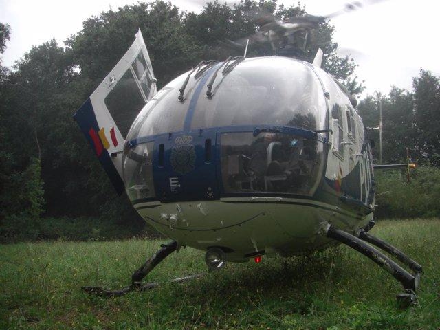 El Helicóptero Del Euiqpo Cóndor