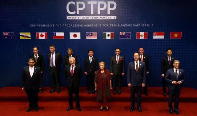 Representatives of members of Trans-Pacific Partnership (TPP) trade deal: Brunei