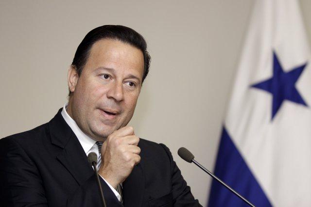 Juan Carlos Varela.