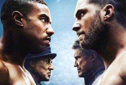 Rocky Balboa e Ivan Drago, cara a cara en el épico póster de Creed 2