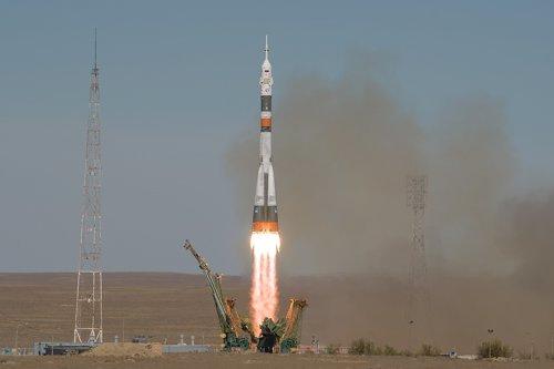 Lanzamiento de la Soyuz MS10