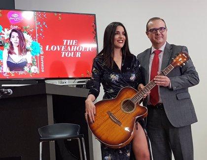 Ruth Lorenzo concluye su gira, The Loveaholic Tour, en ElPozo Alimentación