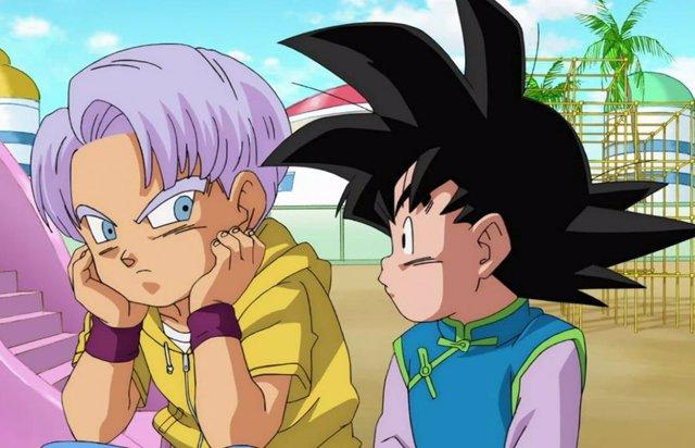 Trunks y Goten en Dragon Ball Super