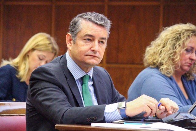 Antonio Sanz en el Senado