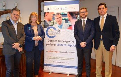 Un total de 150 farmacias realizarán test gratuitos para detectar el riesgo de sufrir diabetes tipo 2