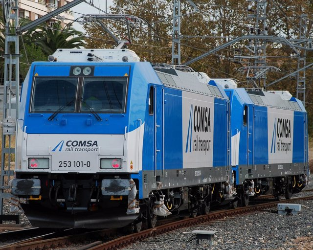 Tren de Comsa Rail