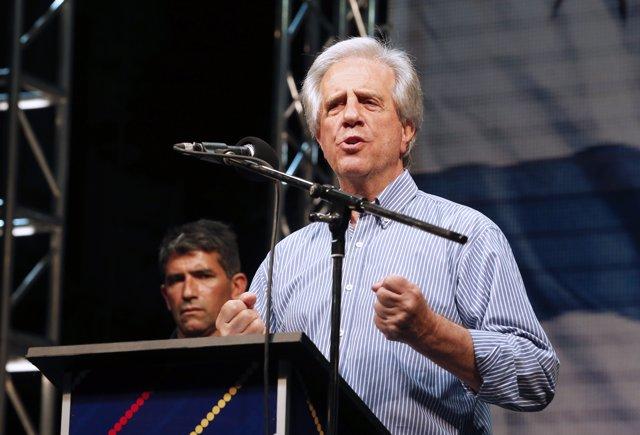 Tabare Vázquez.