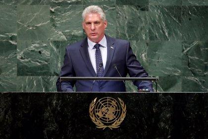 Díaz-Canel agradece el apoyo internacional a Cuba en el debate en la ONU sobre el bloqueo de EEUU