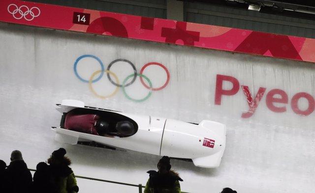 Nadezhda Sergeeva, piloto rusa de bobsleigh en los Juegos Olímpicos de invierno