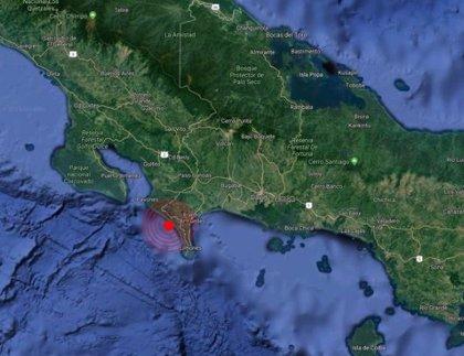 Un sismo de 5,9 grados sacude la frontera entre Panamá y Costa Rica