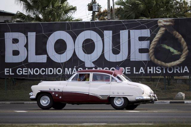 Bloqueo en Cuba