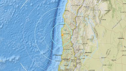 Un terremoto de 6,2 grados sacude el norte de Chile