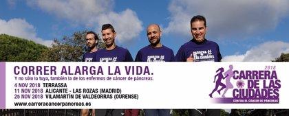 Seis ciudades acogen la Carrera de las Ciudades para recaudar en investigación de cáncer de páncreas