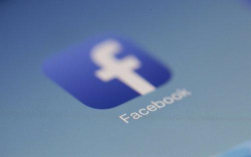 Logo de la app de Facebook