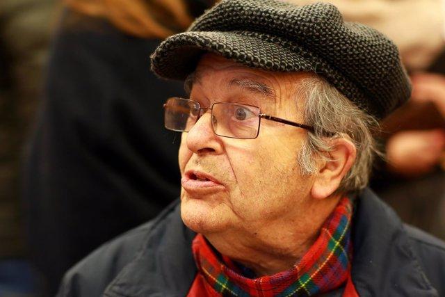 Anciano, gafas, problemas oculares, visión, vista
