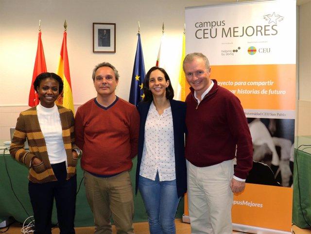 Participantes en la segunda edición de 'Campus CEU Mejores',