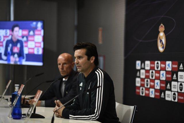 Rueda de prensa de Santiago Solari, nuevo entrenador del Real Madrid