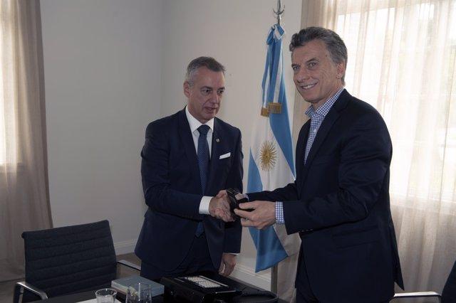 b7aa1a41c2 Urkullu y el Gobierno de Argentina estudian la participación de empresas  vascas y argentinas en licitaciones públicas