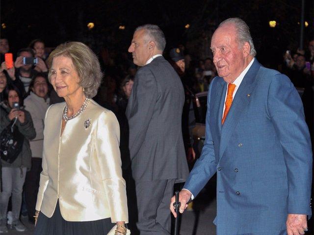 LOs Reyes acuden al concierto por el 80 cumpleaños de Doña Sofía