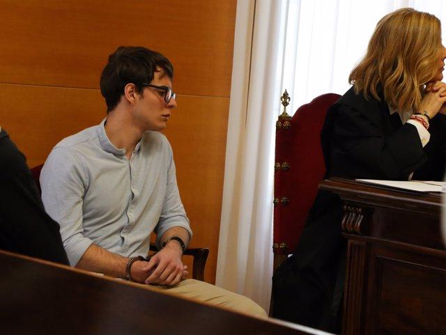 Patrick Nogueira en juicio Guadalajara por crimen de Pioz