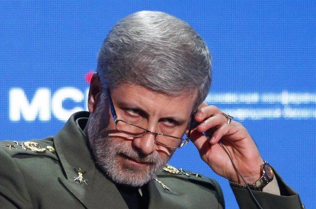 Ministro de Defensa iraní, Amir Hatami