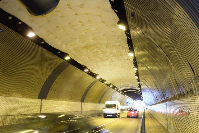 Túnel de Tetuán en Santander