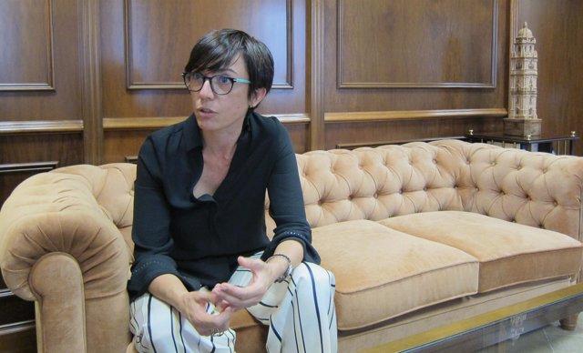 La subdelegada del Gobierno en Málaga, María Gámez