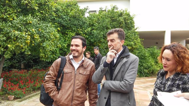 Alberto Garzón y Antonio Maíllo, en Córdoba