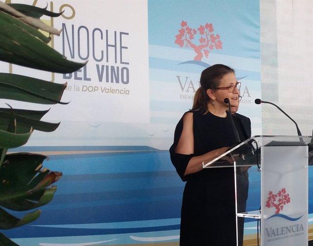 La consellera de Medio Ambiente, Elena Cebrián