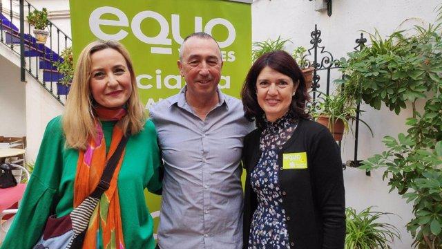 Joan Baldoví traslada el apoyo de Compromís a EQUO-Iniciativa Andalucía