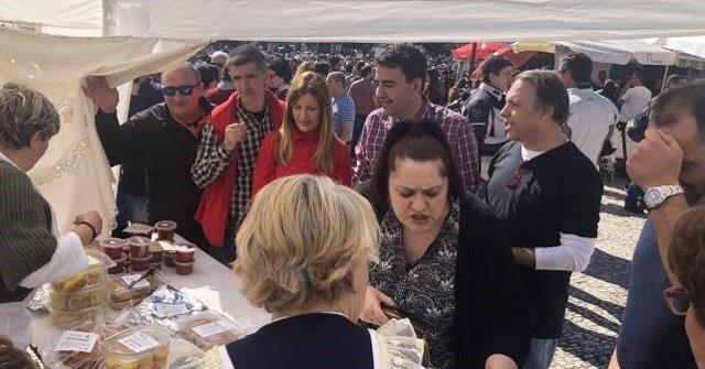 Mario Jiménez (PSOE) en Galaroza (Huelva)