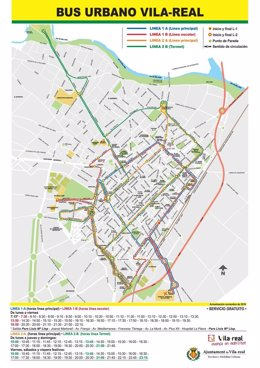 Nuevas líneas de bus de Vila-real